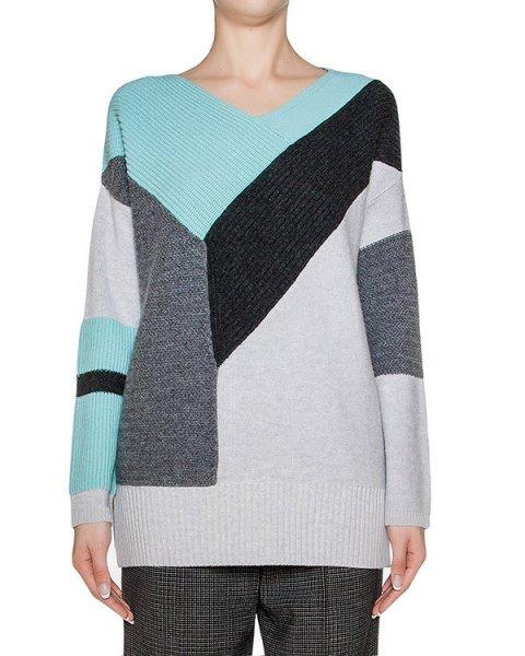 пуловер из мягкой шерсти с контрастными деталями артикул 1I9802 марки Antonio Marras купить за 31600 руб.