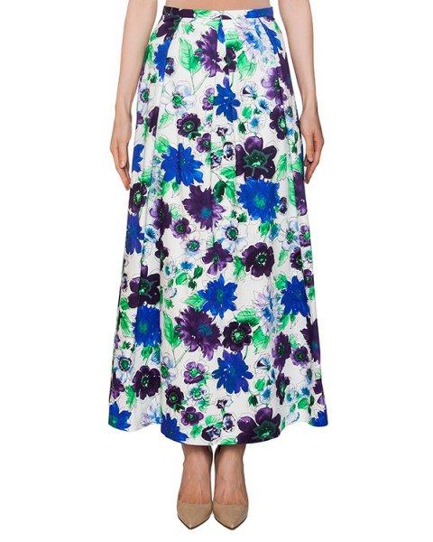юбка в пол из хлопка с цветочным принтом артикул 203IN марки Infinee купить за 9900 руб.