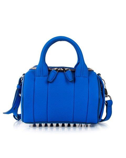 сумка из натуральной кожи с фирменными металлическими шипами артикул 20S0197 марки Alexander Wang купить за 30700 руб.