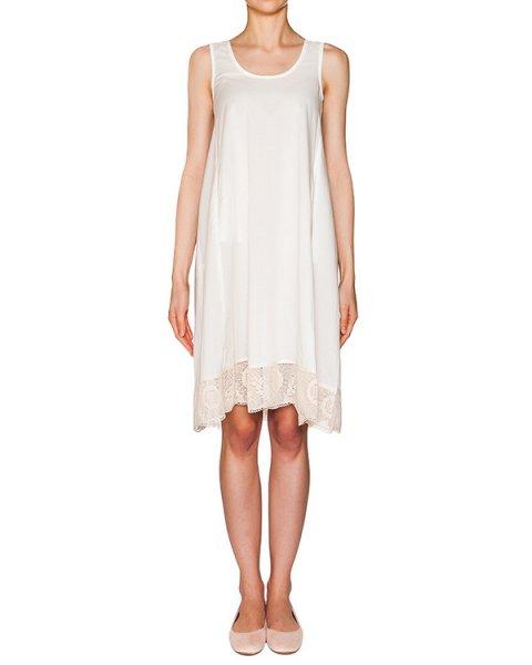 платье из легкого хлопка, дополнено кружевной отделкой и драпировкой на спине артикул 213B марки Holy Caftan купить за 9200 руб.
