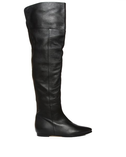 сапоги ботфорты из натуральнй кожи артикул 2336 марки ANDREA MILANO купить за 18000 руб.