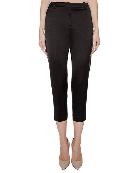 брюки укороченные, из плотной гладкой ткани артикул 23PY193/18 марки ILARIA NISTRI купить за 29000 руб.