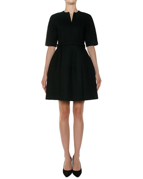 платье приталенного кроя из плотной ткани артикул 2520 марки Dice Kayek купить за 45600 руб.