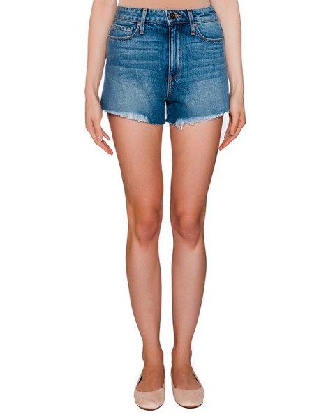 шорты из денима с необработанными краями артикул 2800673-3040 марки Paige купить за 10100 руб.