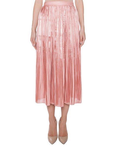юбка плиссированная из тонкой ткани артикул 2FLM3564 марки TIBI купить за 57400 руб.