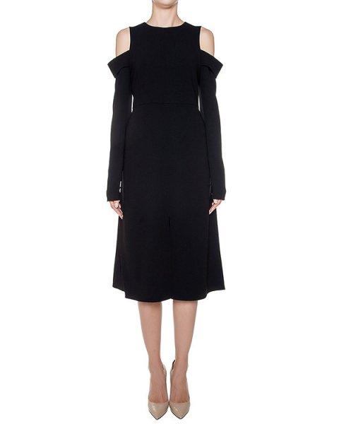 платье из плотной ткани, дополнено вырезами на плечах и разрезами артикул 2TRA4610 марки TIBI купить за 50900 руб.