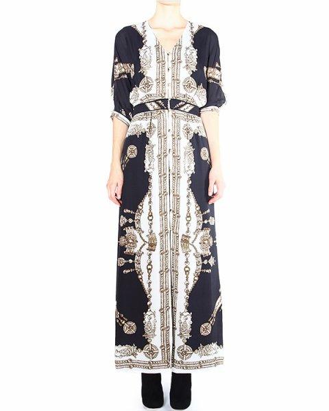 платье с роскошным принтом с элементами стиля барокко артикул 31F4711P марки Marchesa Voyage купить за 28200 руб.