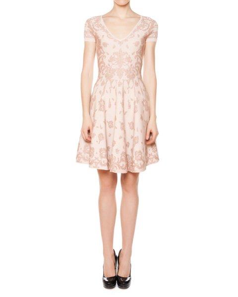 платье из плотного трикотажа с вышивкой металлической нитью артикул 31R5606 марки Marchesa Voyage купить за 23800 руб.