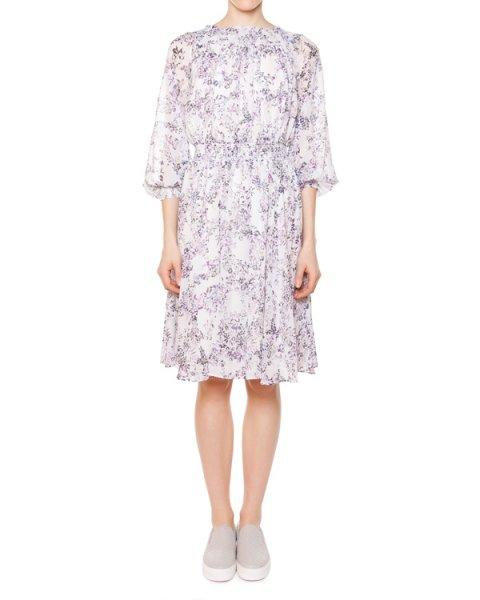 платье из мягкого шелка с цветочным принтом артикул 31R5726P марки Marchesa Voyage купить за 28500 руб.