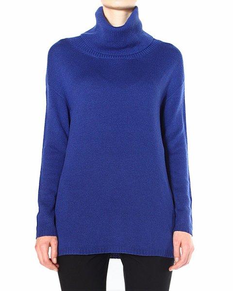свитер удлиненного кроя, с воротом-хомутом артикул 39118 марки D.EXTERIOR купить за 9200 руб.