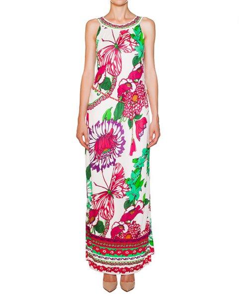 платье из эластичного трикотажа с ярким цветочным принтом артикул 3CRZ6144 марки Hale Bob купить за 10800 руб.