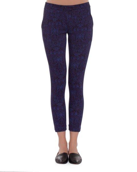 брюки зауженного кроя, длиною семь восьмых артикул 4146C марки Mother of Pearl купить за 19300 руб.