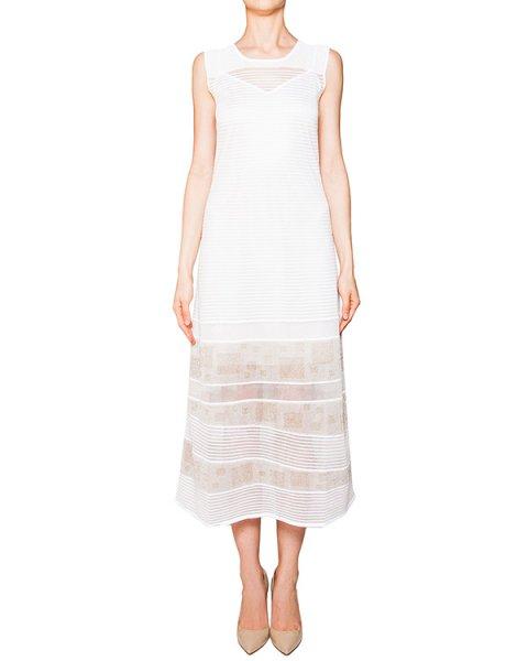 платье в пол из эластичной фактурной ткани с прозрачными вставками артикул 42024 марки D.EXTERIOR купить за 12600 руб.