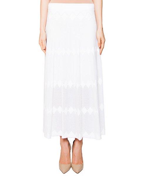 юбка из мягкой трикотажной ткани с фактурным узором артикул 42284 марки D.EXTERIOR купить за 11700 руб.