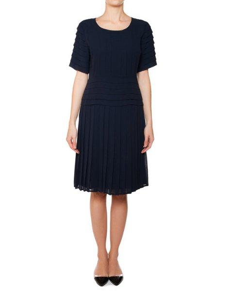 платье из легкой ткани в складку артикул 425003 марки Edward Achour купить за 18800 руб.