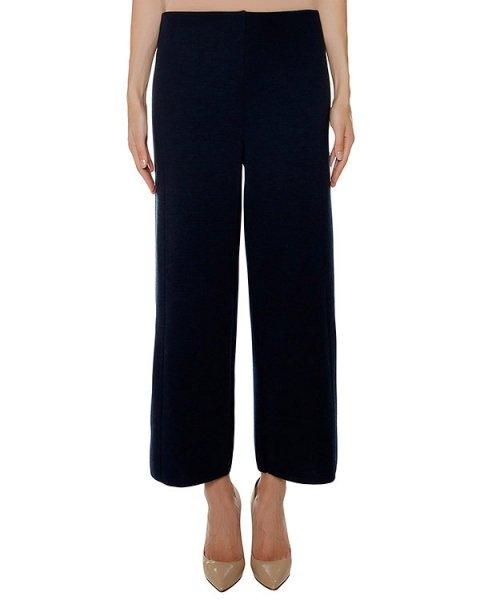 брюки из мягкого шерстяного трикотажа артикул 43407 марки D.EXTERIOR купить за 21800 руб.