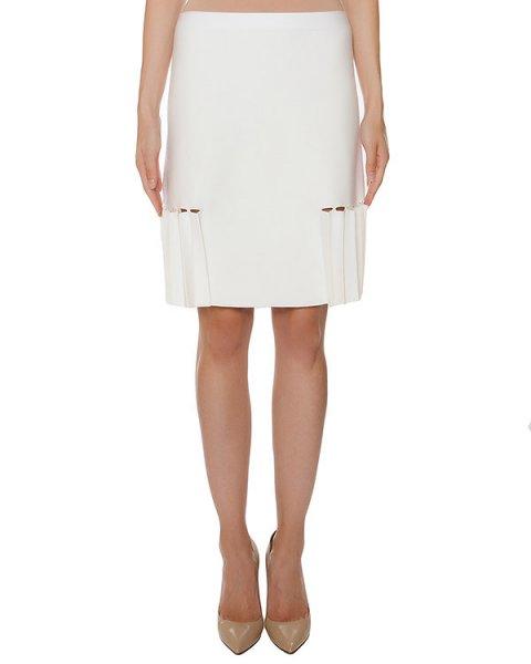 юбка из мягкого шерстяного трикотажа, дополнена складками  артикул 43451 марки D.EXTERIOR купить за 12000 руб.
