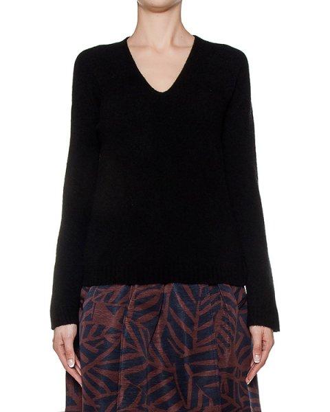 пуловер из мягкого полушерстяного трикотажа артикул 43501 марки D.EXTERIOR купить за 10400 руб.