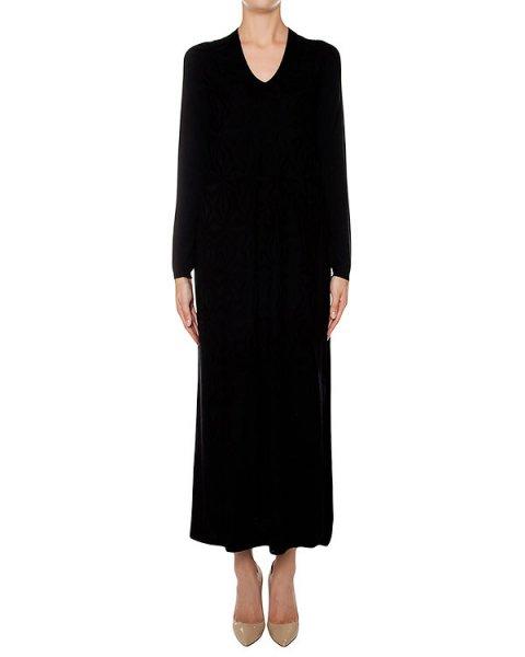 платье из мягкого шерстяного трикотажа артикул 43660 марки D.EXTERIOR купить за 21800 руб.