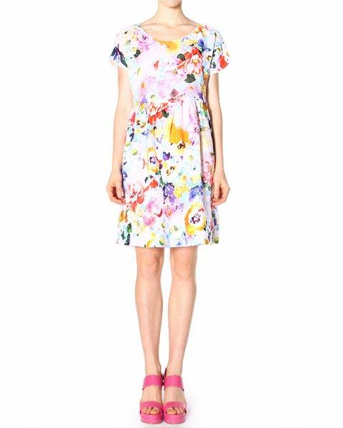платье  артикул 4378E957 марки 120% lino купить за 9100 руб.