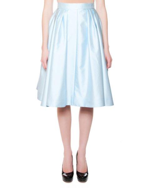 юбка из смеси хлопка и шелка со складками артикул 4510 марки Dice Kayek купить за 24800 руб.