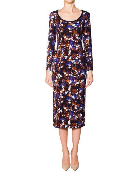 платье из мягкого трикотажа с цветочным рисунком артикул 5248 марки Mother of Pearl купить за 20700 руб.