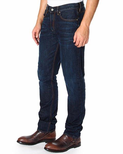 джинсы из плотного денима, прямого кроя артикул 6115J4BI2 марки Stone Island купить за 12500 руб.