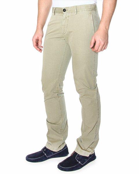 брюки чинос, зауженного кроя, с боковыми вертикальными карманами и средней посадкой артикул 62153AZWN марки Stone Island купить за 7300 руб.