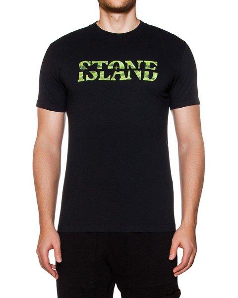 футболка из хлопкового трикотажа с принтом артикул 641520087 марки Stone Island купить за 3200 руб.