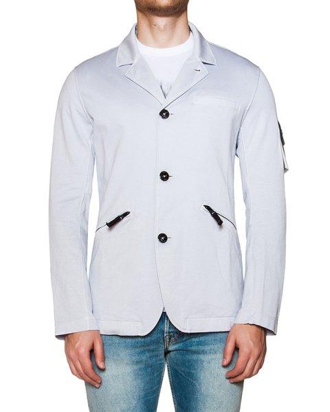 пиджак приталенного кроя из плотного трикотажа артикул 6415A0304 марки Stone Island купить за 16400 руб.