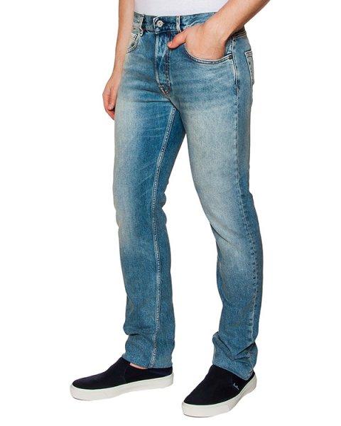 джинсы прямого кроя из плотного денима артикул 6415J1BG5 марки Stone Island купить за 8300 руб.