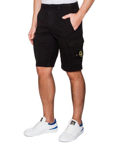 шорты из плотного хлопка с фирменным патчем артикул 6415LS2WN марки Stone Island купить за 7000 руб.