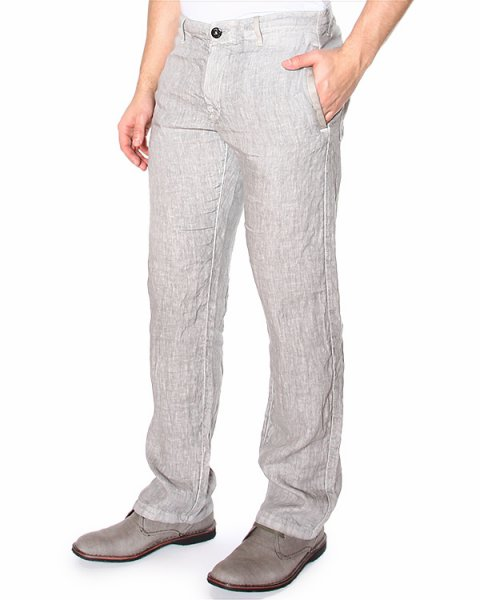 брюки прямого кроя, со средней посадкой и боковыми прорезными карманами артикул 62153GZ01 марки Stone Island купить за 8000 руб.