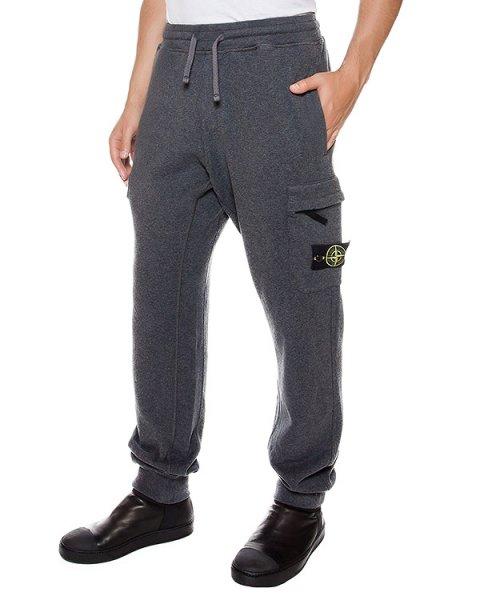 брюки из хлопкового трикотажа с фирменным патчем артикул 651563220 марки Stone Island купить за 15800 руб.