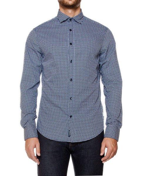 рубашка классического кроя  из хлопка артикул 6X6C74 марки ARMANI JEANS купить за 11200 руб.