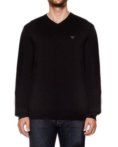 пуловер из мягкого трикотажа артикул 6X6MA4 марки ARMANI JEANS купить за 10500 руб.