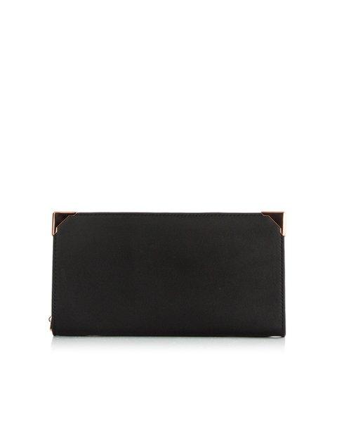 кошелек из натуральной кожи с металлической фурнитурой артикул 70W0102 марки Alexander Wang купить за 27600 руб.