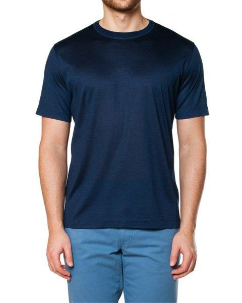 футболка из натурального шелка с легким эффектом благородного блеска артикул 716650 марки Cortigiani купить за 17500 руб.
