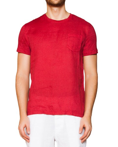 футболка из натурального льна артикул 7360E908 марки 120% lino купить за 3900 руб.