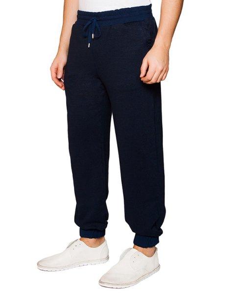 брюки в спортивном стиле из натурального льна с хлопком артикул 7463F079 марки 120% lino купить за 15400 руб.