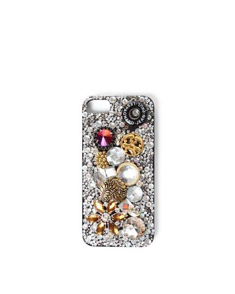 чехол для iPhone на модель iPhone 4/4S из пластика, декорированы кристаллами артикул 8052 марки Jean-Paul Lespagnard купить за 4900 руб.