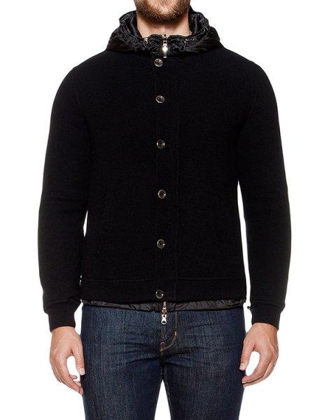 куртка двусторонняя; с внешней стороны из кашемира, с внутренней из водонепроницаемой стеганой ткани артикул 8167E823 марки 120% cashmere купить за 37600 руб.