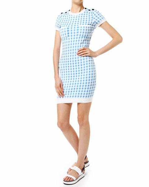 платье облегающее с коротким рукавом артикул 862R014 марки Carven купить за 8500 руб.