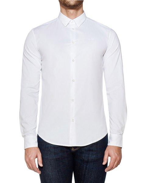 рубашка классического кроя из хлопка артикул 8N6C09 марки ARMANI JEANS купить за 8300 руб.