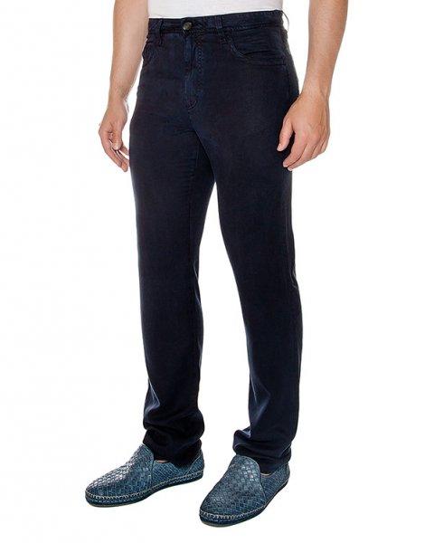 брюки прямого кроя из плотной эластичной ткани артикул 913601 марки Cortigiani купить за 24600 руб.