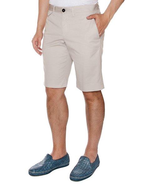 шорты прямого кроя из плотного хлопка артикул 913620 марки Cortigiani купить за 20600 руб.