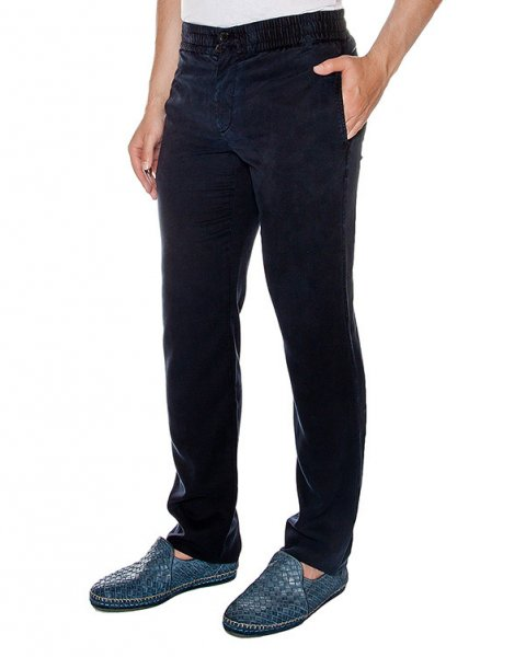 брюки прямого кроя из мягкой тонкой ткани артикул 913622 марки Cortigiani купить за 26200 руб.