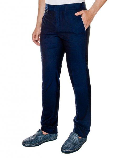 брюки прямого классического кроя из тонкой вирджинской шерсти артикул 913631 марки Cortigiani купить за 28100 руб.