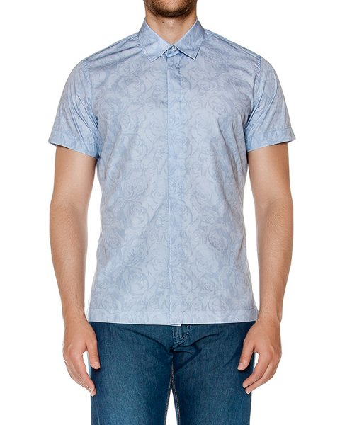 рубашка из тонкого хлопка с узором артикул 915680 марки Cortigiani купить за 28100 руб.