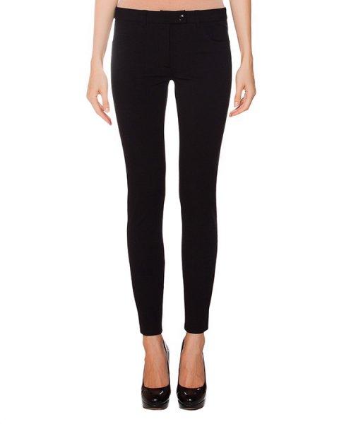 брюки обтягивающие из плотного трикотажа артикул A0308 марки Moschino Boutique купить за 13100 руб.